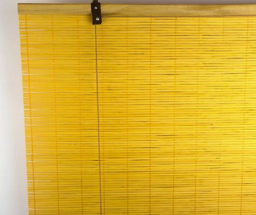 Bamboe rolgordijn bamboe voorkant