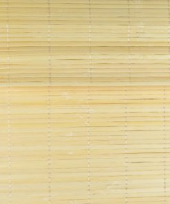 Detailfoto bamboe vouwgordijn natuur