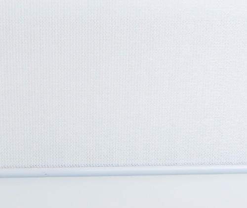 Voorkant van het buitenrolgordijn wit