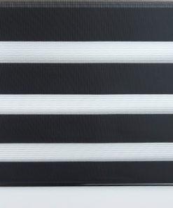 Duo rolgordijn zwart voorzijde