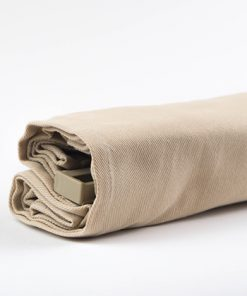 Productfoto van het vouwgordijn beige