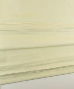 Kleurfoto van het vouwgordijn crème