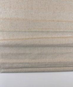 Detailfoto van het vouwgordijn linnen