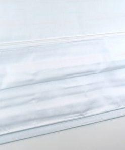 Detailfoto van het vouwgordijn wit