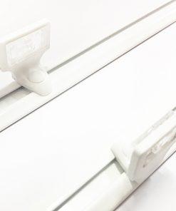 QuickFit montageprofiel voor plissé gordijnen (handgreepbediening)