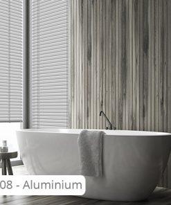 Aluminium jaloezie 50 mm - J08 - Aluminium