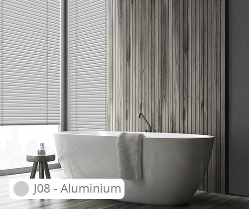 Aluminium jaloezie 50 mm • Raamdecoland