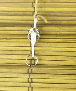 Bamboe vouwgordijn goudbruin